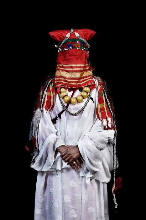 Khamlia, невеста, юг Марокко, 2014 г. Автор фото: Leila Alaou.