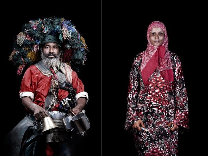 Экзотические люди. Марокканцы. Автор фото: Leila Alaou.