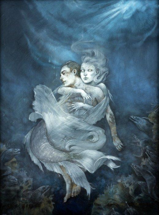 Затерянные в море. Автор: Leilani Bustamante.
