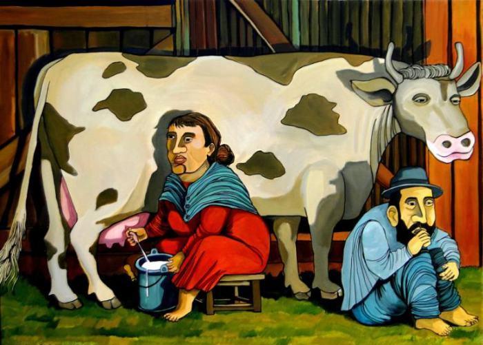 Нерадивый молочник. Автор: Leonardo Sepulveda.