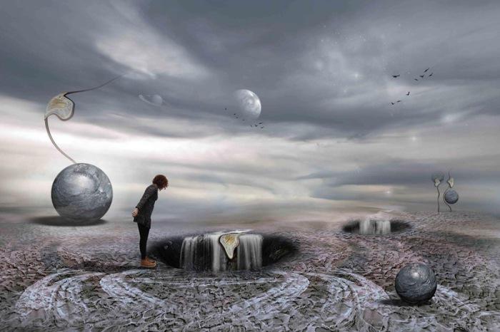 Вымышленные миры. Автор работ: фотохудожник Лейла Эмектар (Leyla Emektar).