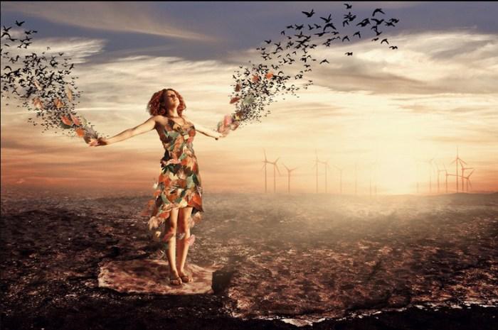 Отпуская мысли и проблемы. Автор работ: фотохудожник Лейла Эмектар (Leyla Emektar).