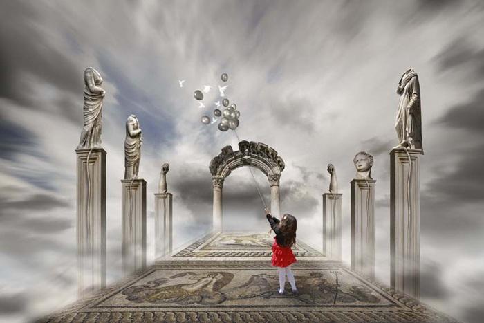 Назад в детство. Автор работ: фотохудожник Лейла Эмектар (Leyla Emektar).