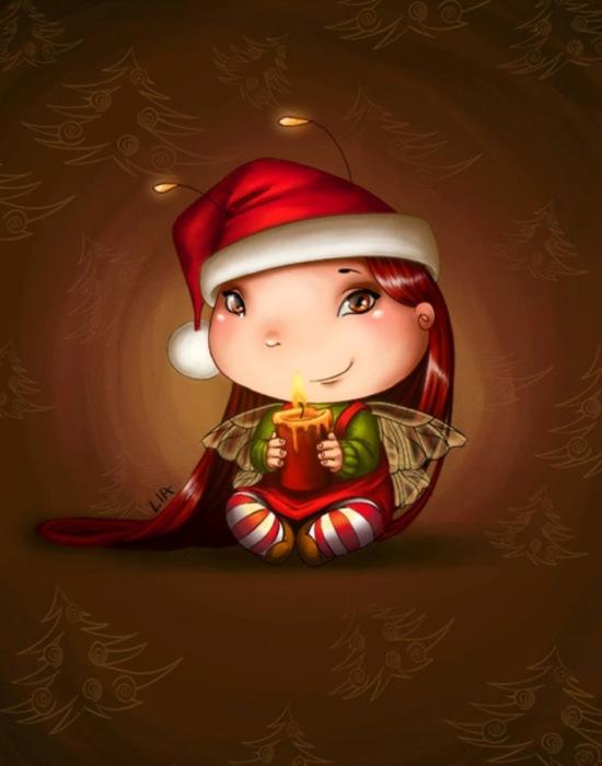 Рождество. Автор: Lia Selina.