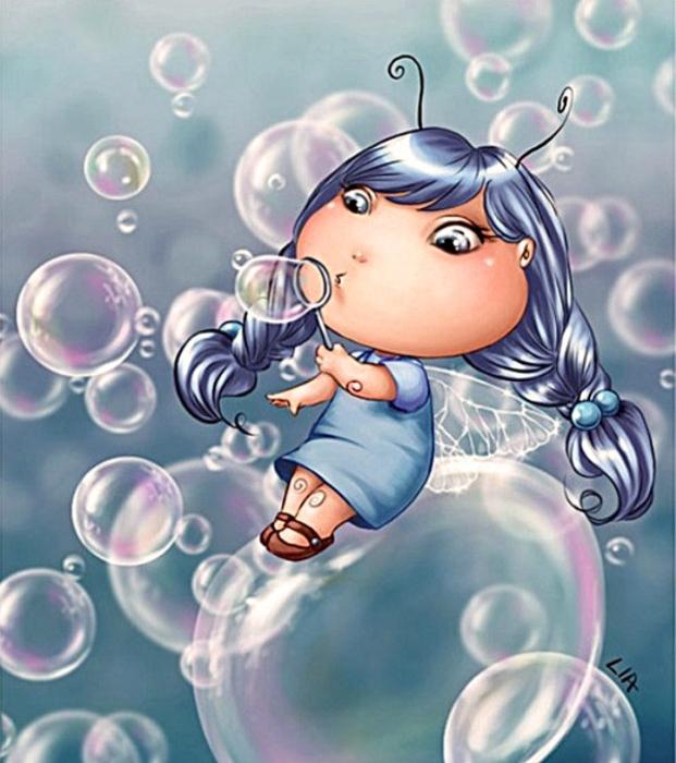 Мыльные пузыри. Автор: Lia Selina.