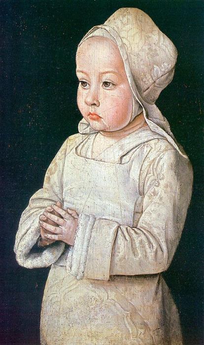 Портрет работы Жана Эя: Сюзанна де Бурбон в детстве, ок. 1500 г. \ Фото: thefreelancehistorywriter.com.