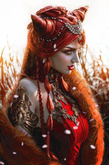 Огненная лиса. Автор: Lillian Liu.