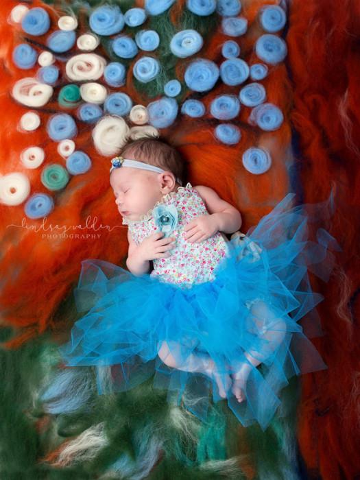 На этот фотоснимок Линдси вдохновил шедевр Эдгара Дэга «Голубые танцовщицы». Автор фото: Линдси Уолден (Lindsay Walden).