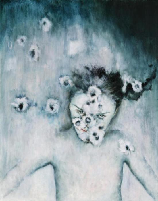 Поцелуй жизни, 2003 год. Коллекция Анкориджского музея истории и искусств. Автор: Лиза Баллард (Lisa Ballard).