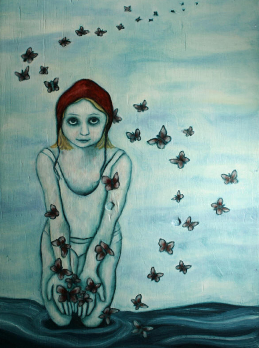 Шевеление души, 2005 год. Частная коллекция. Автор: Лиза Баллард (Lisa Ballard).