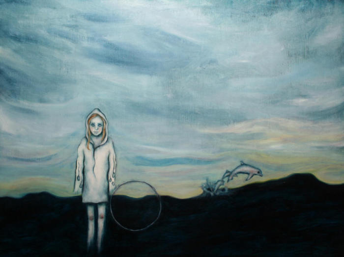 Вдвоём,  2005 год.  Частная Коллекция. Автор: Лиза Баллард (Lisa Ballard).