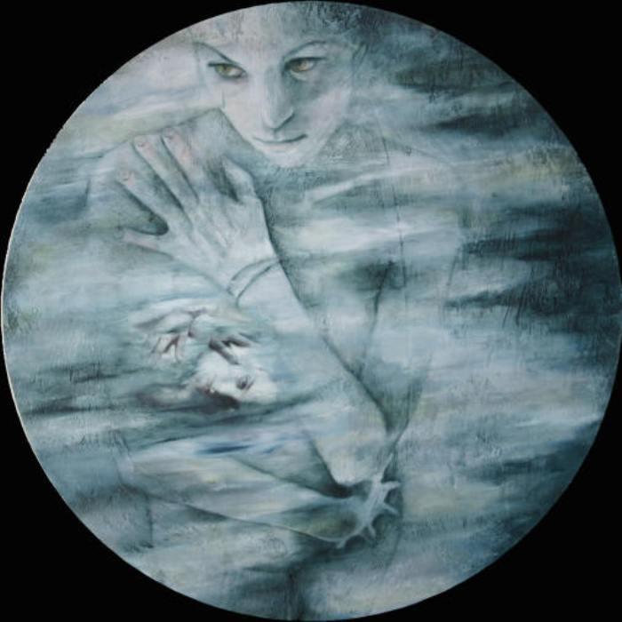 Сплетник, 2005 год. Частная коллекция. Автор: Лиза Баллард (Lisa Ballard).