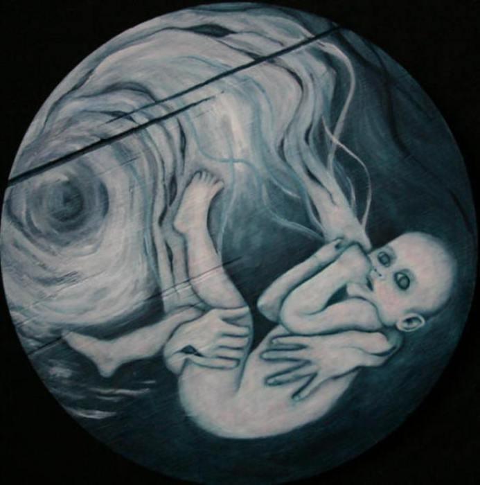Руки Катрины, 2005 год. Частная коллекция. Автор: Лиза Баллард (Lisa Ballard).