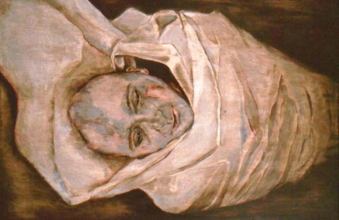 Человеческий кокон, 2002 год. Частная коллекция. Автор: Лиза Баллард (Lisa Ballard).