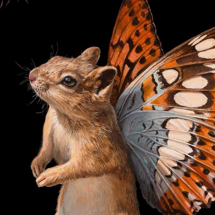 Гибридная мышь. Автор: Lisa Ericson.