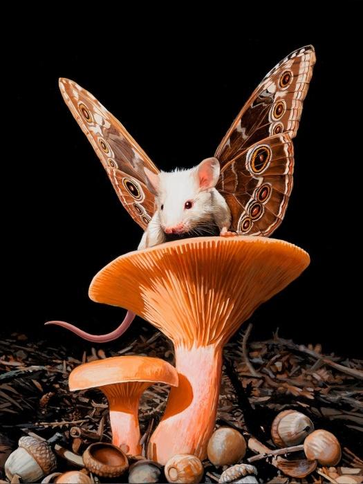 Мышь. Автор: Lisa Ericson.