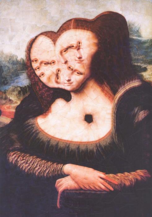 Мона Лиза. Автор: Lola Dupre.