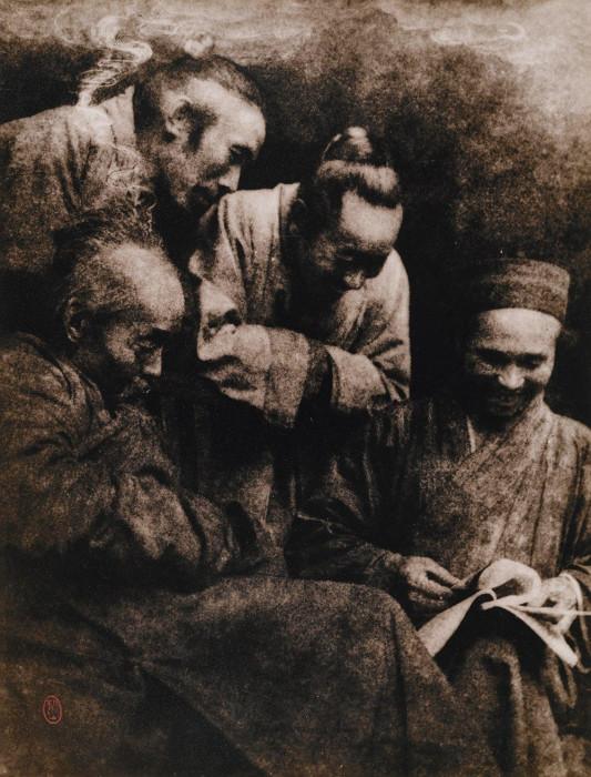 Разглядывание, 1931 год. Автор: Long Chingsan.