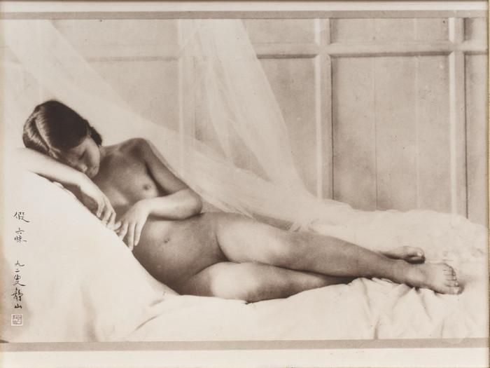 Медитация, 1928 год. Автор: Long Chingsan.