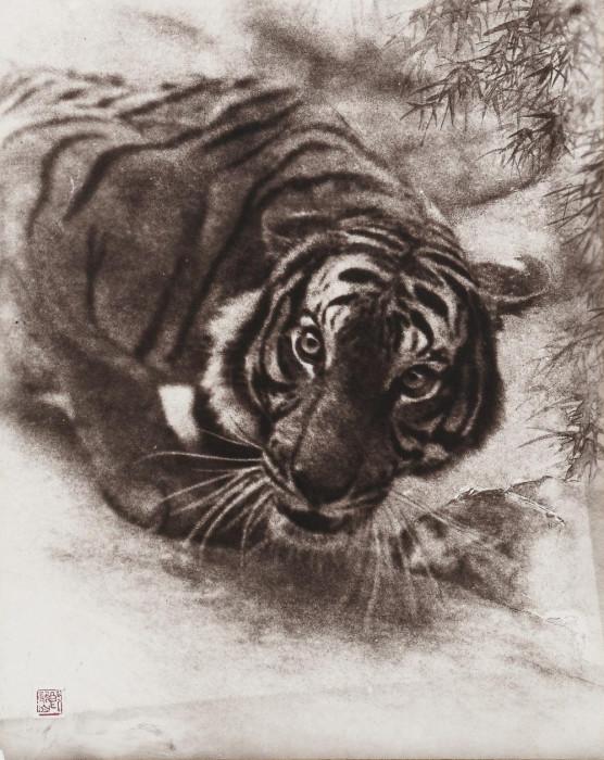 Добыча, 1936 год. Автор: Long Chingsan.