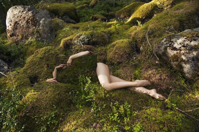 Финская природа и обнажённая натура. Автор: Loreal Prystaj.