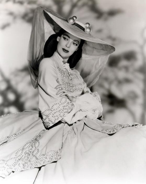 Одна из самых роскошных женщин прошлого века. Актриса Лоретта Янг (Loretta Young).