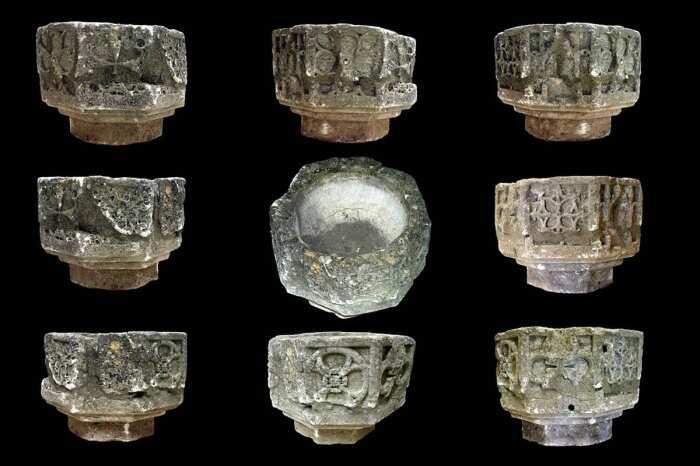 Реликвии рыцарей-тамплиеров, XII-XIII века, музей Кориниума. \ Фото: google.com.