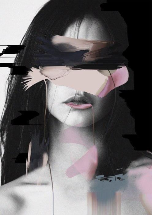 Импровизация. Автор работ: Луиза Мертенс (Louise Mertens).