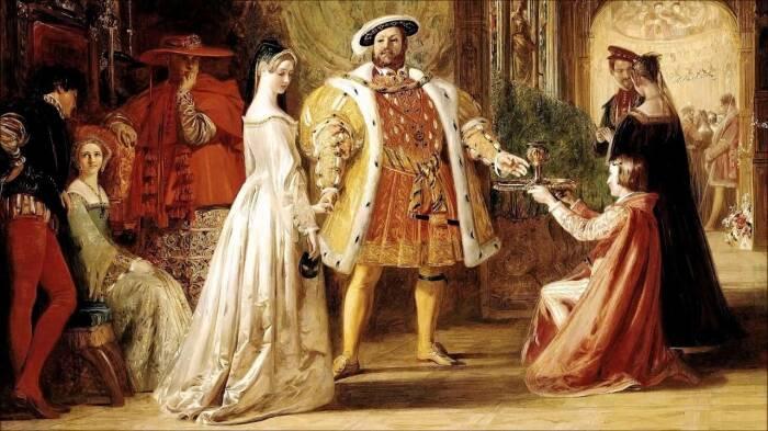 Анна Болейн и Генрих VIII. \ Фото: google.com.