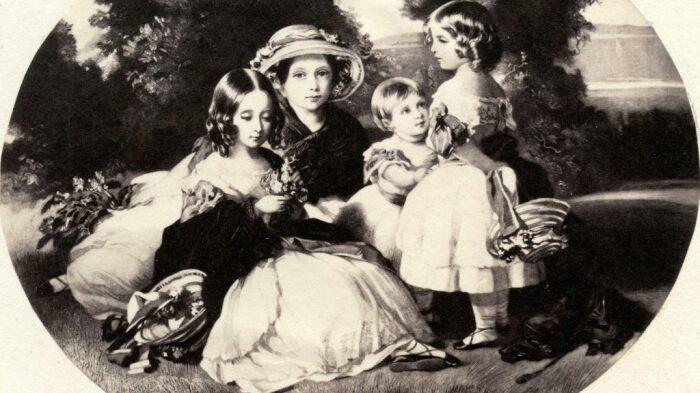 Четыре дочери королевы Виктории. \ Фото: pbs.org.