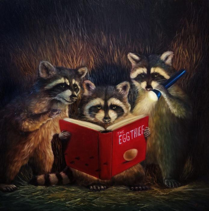 Вечер тайн и новых открытий. Автор: Lucia Heffernan.