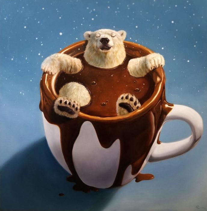 Шоколадное спа. Автор: Lucia Heffernan.