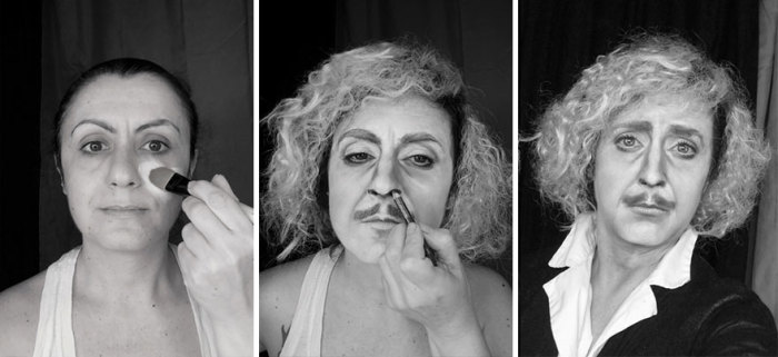 Джин Уайлдер. Фильм: «Доктор Франкенштейн». Автор:  Lucia Pittalis.