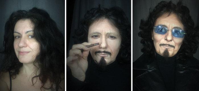 Тони Айомми - Black Sabbath. Автор:  Lucia Pittalis.