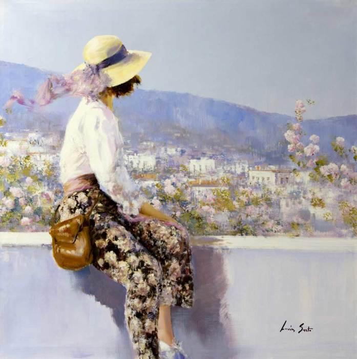 Летний день. Автор: Lucia Sarto.