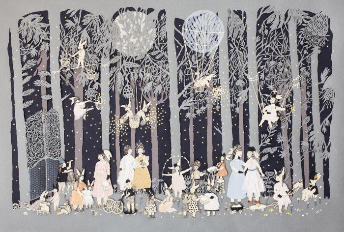 В лесу. \ Фото: ucilabiscione.com.