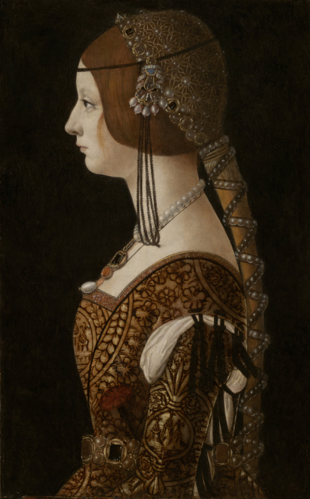 Работа Бьянки Марии Сфорца, ок. 1493 года. \ Фото: useum.org.
