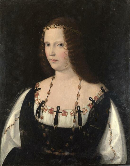 Портрет молодой леди, Бартоломео Венето, ок. 1500-10 гг. \ Фото: infobae.com.