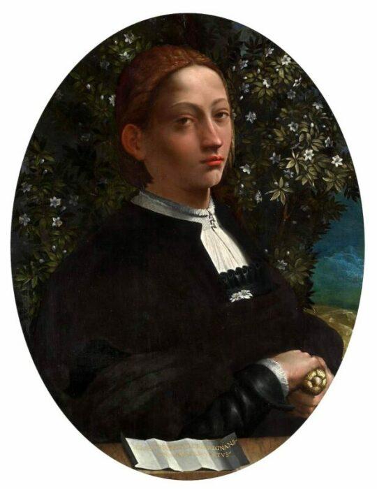 Лукреция Борджиа, герцогиня Феррарская, Доссо Досси, ок. 1519-30 гг. \ Фото: historyofyesterday.com.