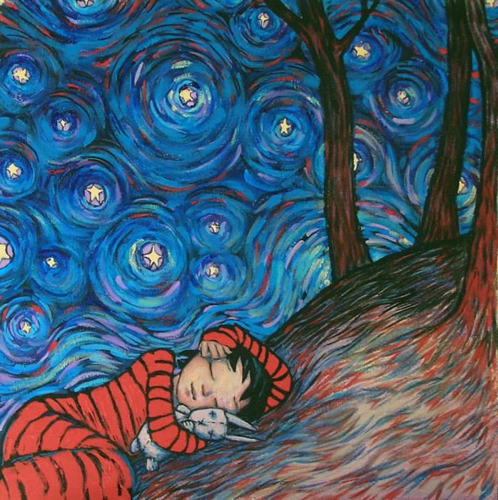 Шотландская живопись с детской душой: Картины на грани тепла и детских страхов