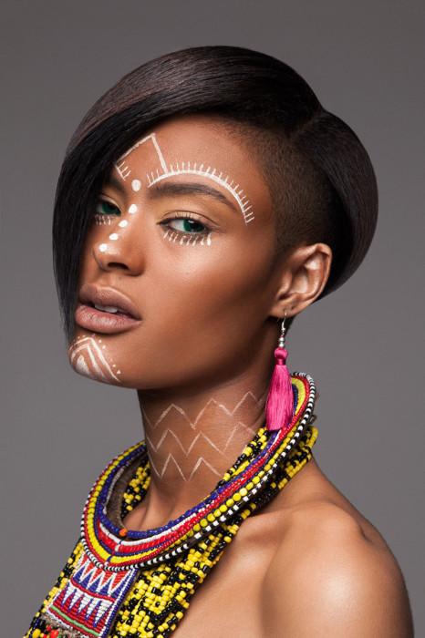 Креативные африканские причёски. Автор: Lisa Farrall.