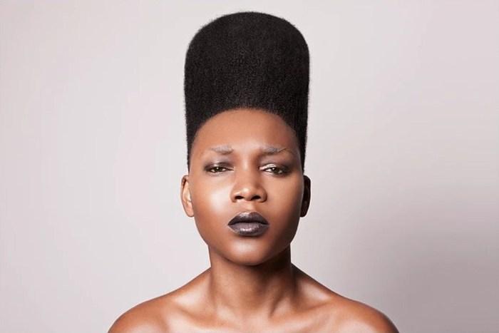 Необычные причёски от британского мастера. Автор: Lisa Farrall.