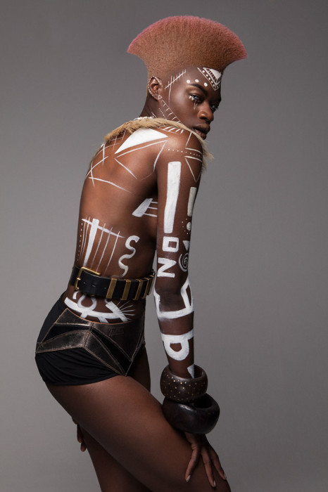 Африканские причёски. Автор: Lisa Farrall.