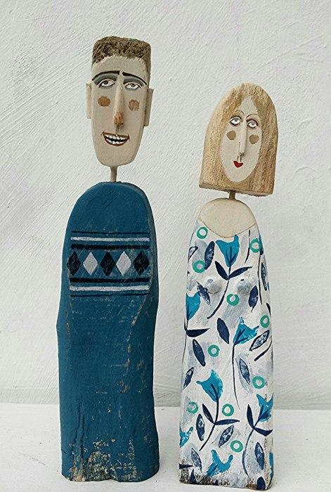 Супруги. Автор работ: Линн Муир (Lynn Muir).