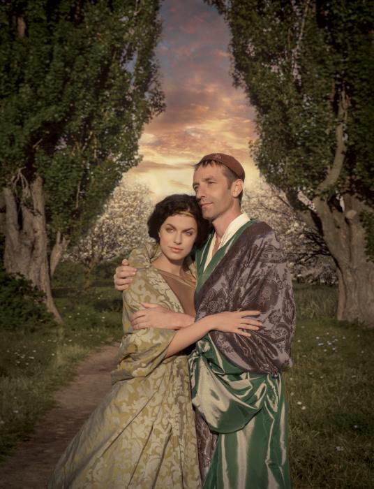 Явление героя. Мастер и Маргарита от Ретроателье и Елены Черненко.