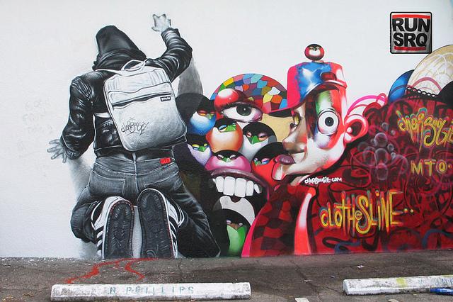 Гиперреалистичные граффити уличного художника MTO.