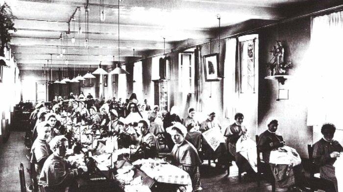 Место, где женщин превращали в рабынь. \ rte.ie.