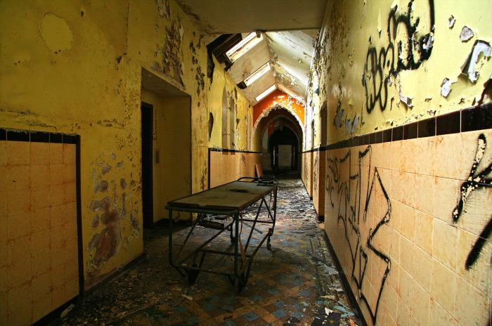 Заброшенная Ирландия: внутри прачечной Магдалины. \ Фото: hrp.law.harvard.edu.