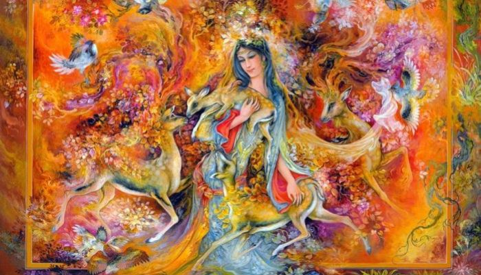 Оттенки любви. Автор: Mahmoud Farshchian.