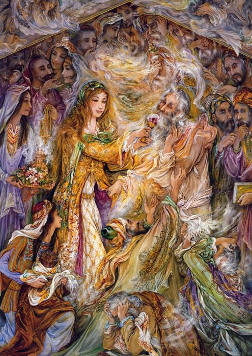 Благословенное страдание, 2004 год. Автор: Mahmoud Farshchian.